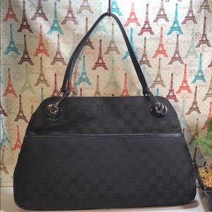 Authentic Gucci GG Monogram Hobo Bag